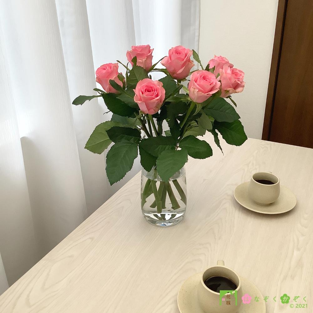 【バラ ピンク】ピンクダイアモンド/ハウスの中から最もゴージャスなバラをお届け。15本