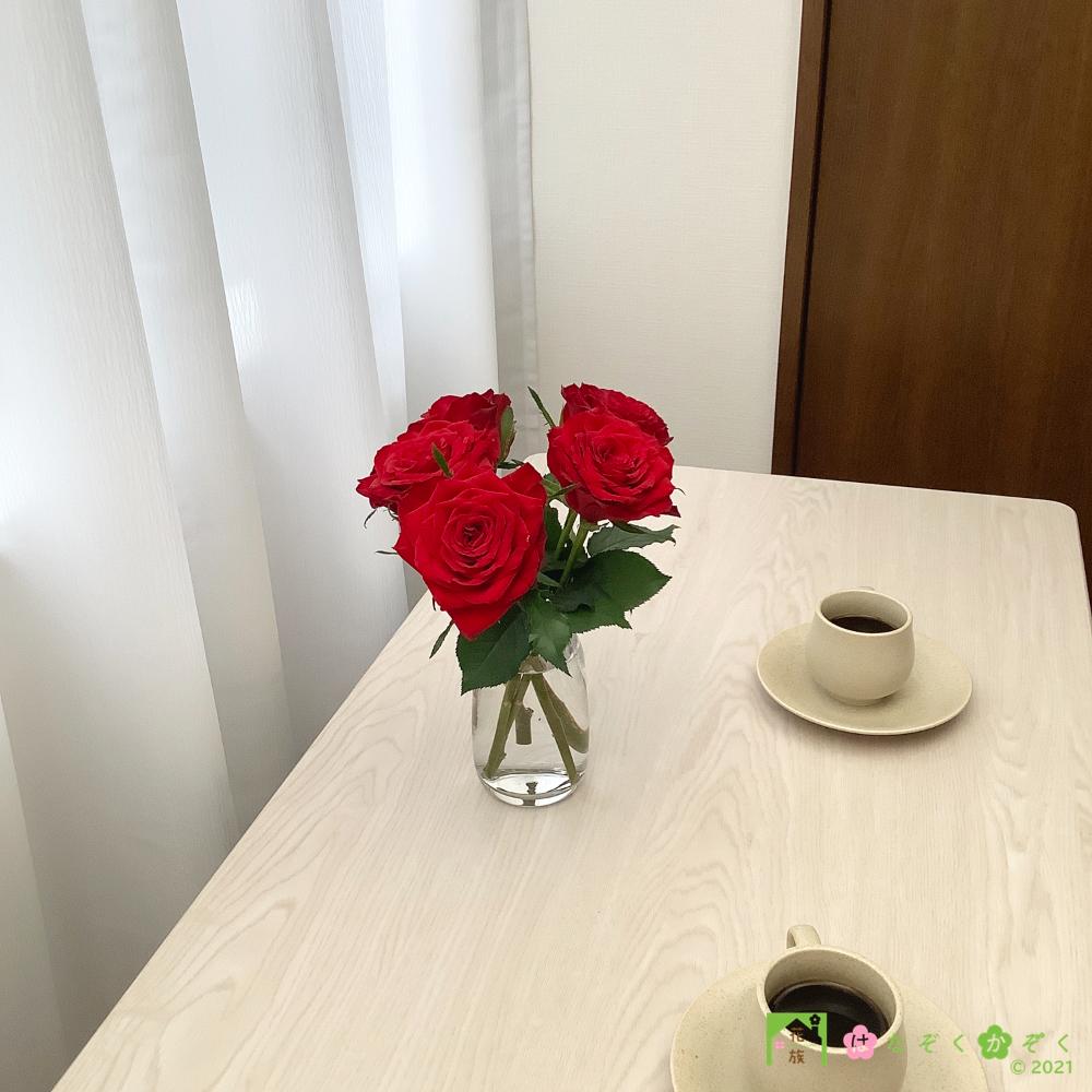 【バラ 赤】ブリランテ/ハウスの中から最もゴージャスなバラをお届け。5本